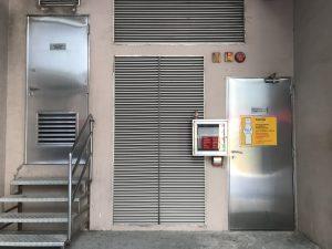 訂做香港地盤不鏽鋼門-地鐵不鏽鋼閘門-不鏽鋼消防門-港燈標準不鏽鋼火牛房門