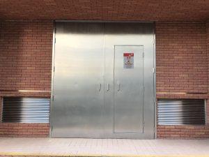 CLP不鏽鋼門-中電標準不鏽鋼火牛房門(防火或非防火)帶證書-中電火牛房百葉窗