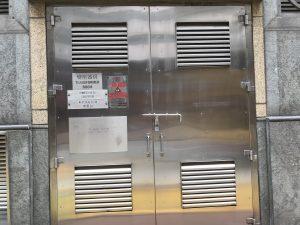 HKE港燈標準火牛房門-不鏽鋼火牛房門-不鏽鋼閘門-火牛房鐵器-GMS欄杆