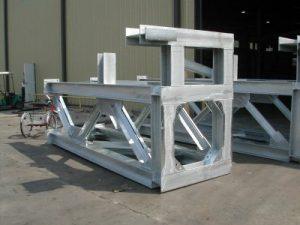 香港地盤工字鋼架-熱浸鋅工字鐵臺-焊接H型鋼架-鋼結構支撐-熱浸鋅鐵器製品