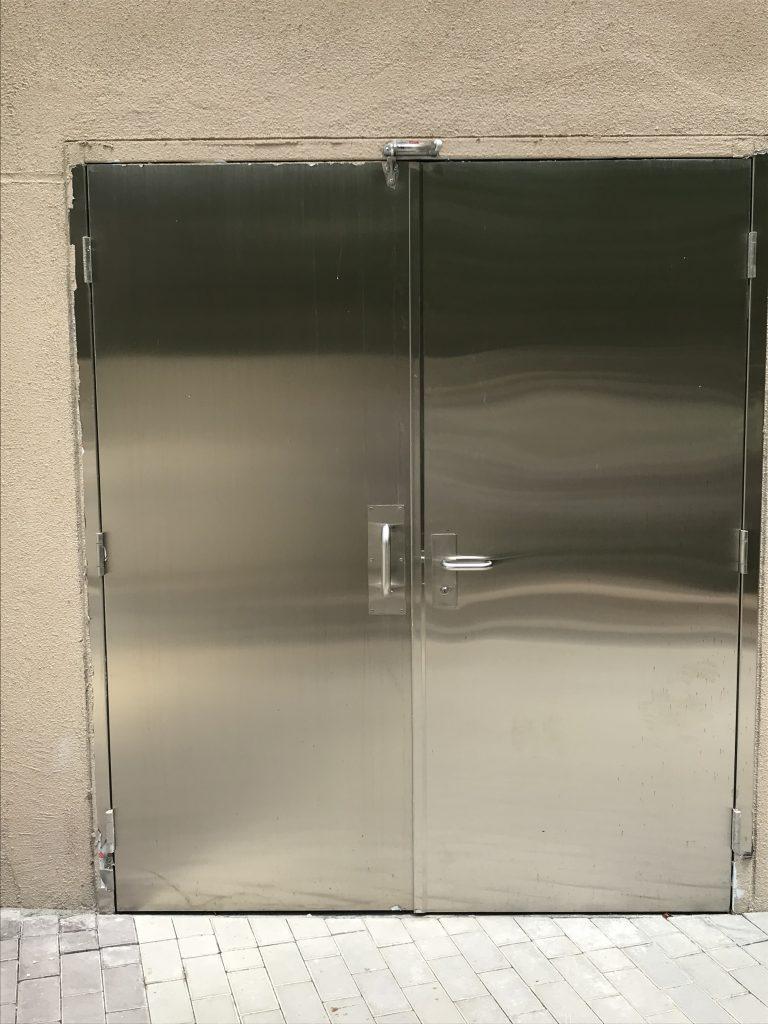 香港不鏽鋼門-不鏽鋼閘門-不鏽鋼防火門-不鏽鋼走火通道門-BS476標準防火門
