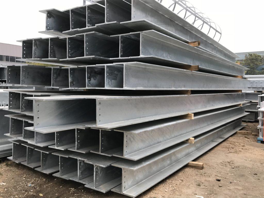 香港鋼鐵工程-鋼結構工程-熱浸鋅鋼柱-鋼結構平台-鋼結構支撐-結構型鋼-universal columns