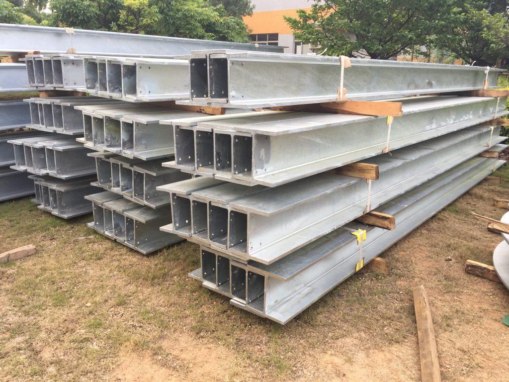 香港熱浸鋅鋼鐵結構-停車場上蓋鋼結構-幕墻鐵器製品-鉛水鋼材-H鋼樁柱-地盤鋼鐵結構材料供應