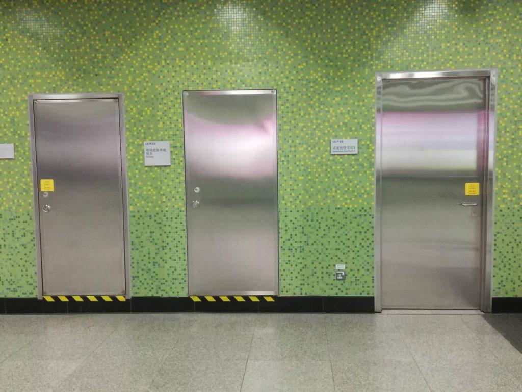 香港不鏽鋼防火門-S316不鏽鋼門-S316L不鏽鋼垃圾房門-水泵房門-冷氣機房門-S316L通道門供應