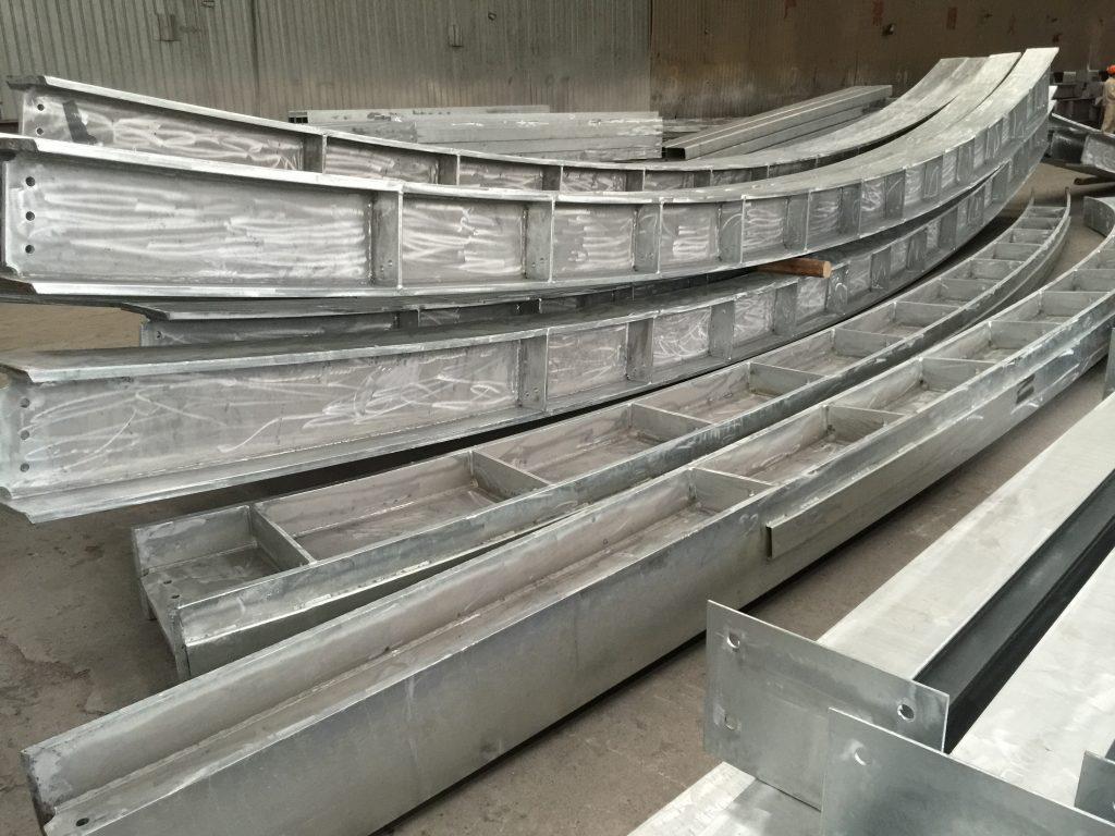 地盤金屬結構工程-鐵器工程-鉛水鐵器工程-熱浸鋅鋼材供應-屋面上蓋結構鋼材供應
