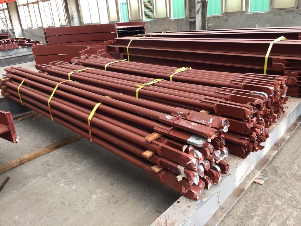 地盤鐵器製品,地盤鐵器工程,地盤防火鐵器,臨時地盤鐵器工程,臨時扶手,欄杆攔河,鐵樓梯,上料平台供應