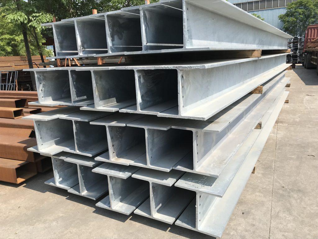 香港地盤工字鋼架-熱浸鋅H型鋼-鋼結構雨棚-鋼結構車站-鋼鐵結構平台-籃球場鐵器工程-地盤燒焊供應
