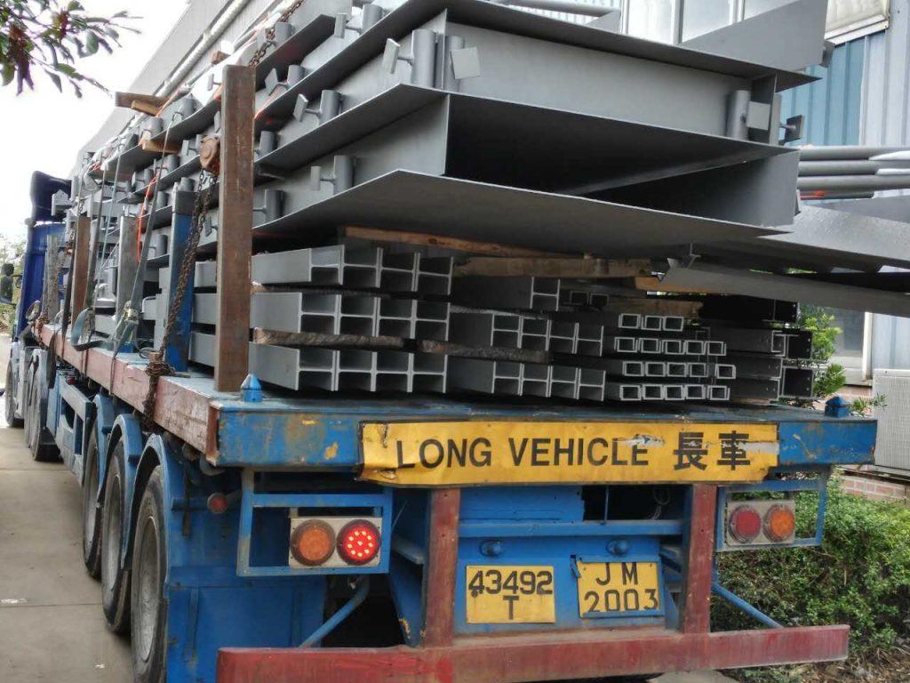 將軍澳隧道變電站鋼結構支架,配電站鋼結構支架,將軍澳隧道鋼結構工程,臨時鐵器工程,臨時鋼結構通道