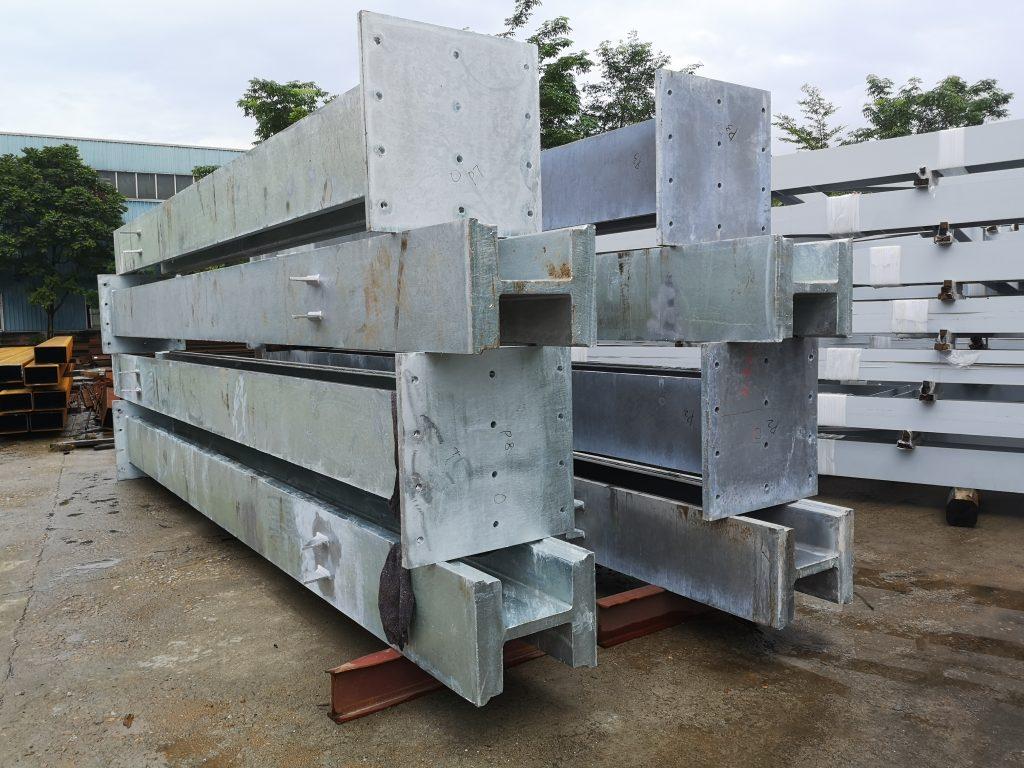 將軍澳HKTV雨棚鋼結構,雨棚鋼柱,鋼結構雨棚工程,鋼結構雨棚材料,鐵器工程,建築鋼鐵工程