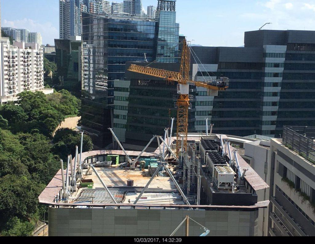 香港弘立書院鋼結構天面,弘立書院天面鋼架,弘立書院鋼架及鋁板工程,熱浸鋅鋼結構工程,香港鋼結構工程