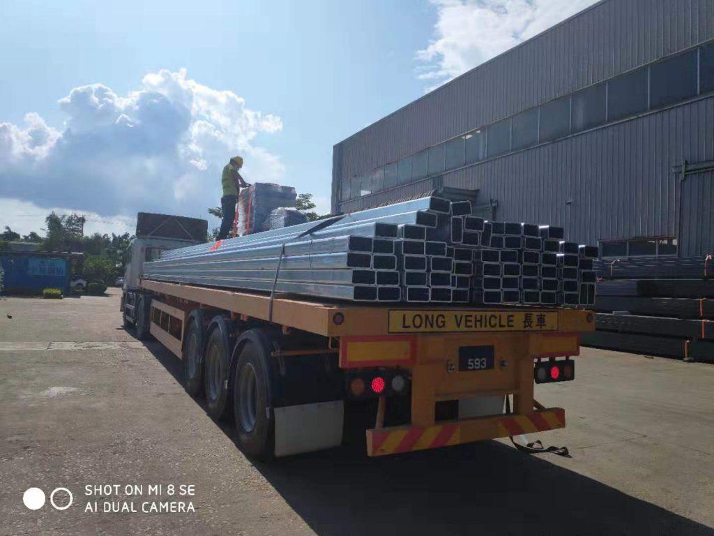 澳門銀河3C鋼結構,鋼結構材料,砌墻磚架,熱浸鋅鋼材,澳門鐵器工程,澳門鋼結構材料供應