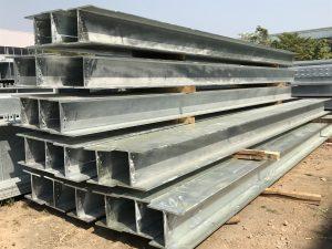 香港熱浸鋅H型鋼,熱鍍鋅鋼材,鉛水工字鋼材料,鉛水H型鋼,Universal Columns型鋼,BS EN ISO1461-2009鍍鋅標準H型鋼