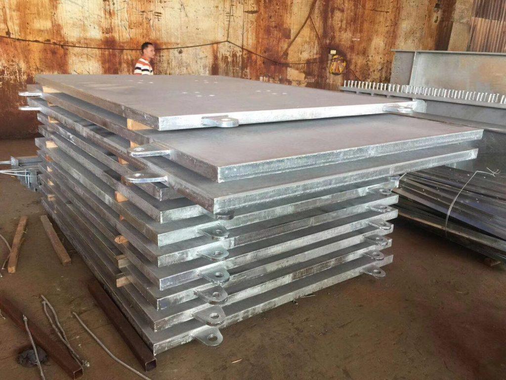 香港青衣碼頭熱浸鋅鋼板,熱浸鋅預埋鋼板,S355J2鋼板,S450J0鋼板,鋼結構工程,建築加固鋼板,鉛水鋼板
