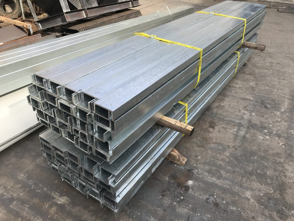 香港熱浸鋅槽鋼,S275J0槽鋼,S355J0槽鋼,香港槽鋼分銷,英標槽鋼材料,PFC 100x51x10.42kg/m規格槽鋼,PFC 152x76x18kg/m槽鋼規格供應