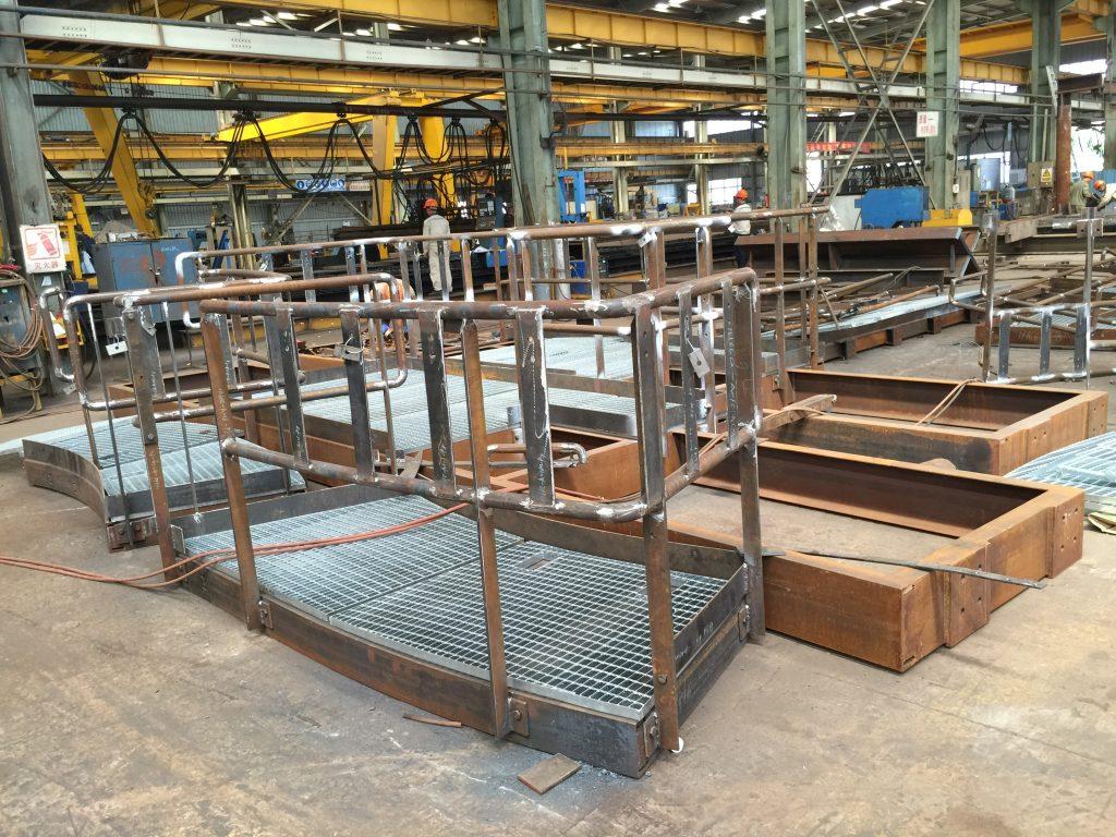 香港電廠通道平台,鋼結構檢修平台,電廠檢修平台,鋼結構平台,鐵器工程,雜項鐵器工程,鋼格柵板