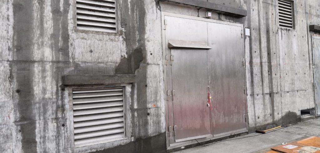 香港火牛房不鏽鋼門工程,火牛房防火鐵器及不鏽鋼防火門,將軍澳EP/SP/10/91合約牛房門工程,中電標準不鏽鋼門,不鏽鋼防火門