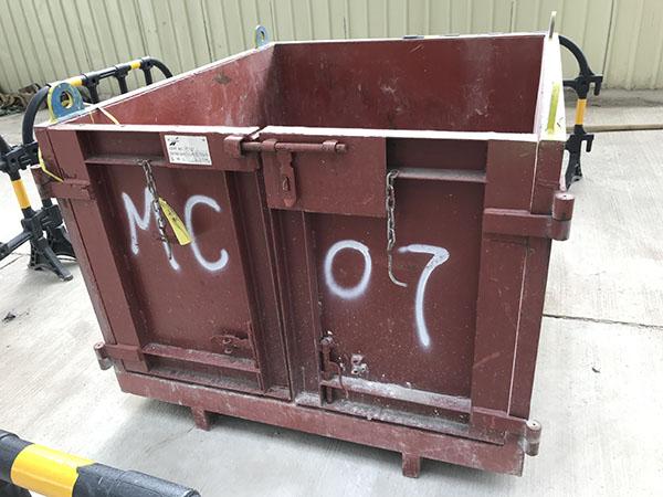 地盤垃圾物料運輸鐵箱