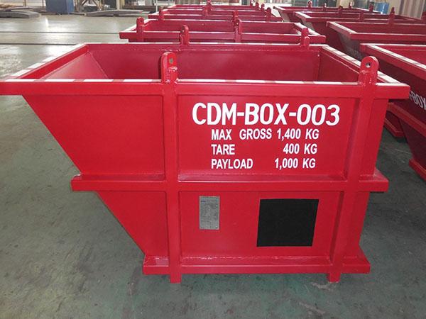 垃圾物料運輸鐵箱